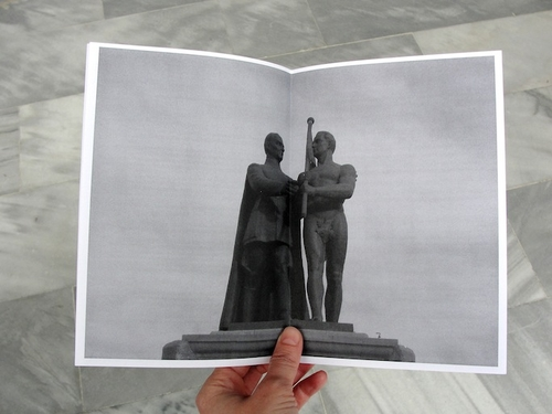 Fanzine, 10 pages, 15 x 20 cm, black&white, <br />photocopied on demand<br />Photo: Dilek Winchester